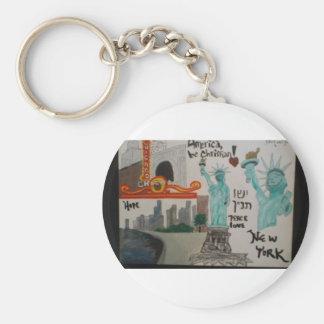 N.Y.Chicago/Keychain/christian Kunst/Hebräer Schlüsselanhänger