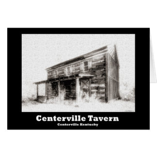 NA120.Centerville Taverne Karte