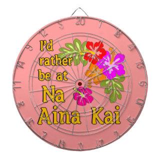 Na Aina Kai würde ich eher an Na Aina Kai Hawaii s Dartscheiben