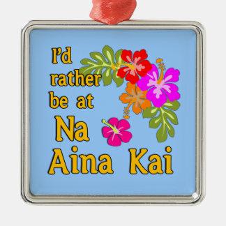 Na Aina Kai würde ich eher an Na Aina Kai Hawaii s Weihnachtsornament