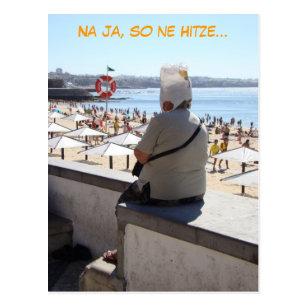 Lustige Hitze Postkarten | Zazzle.de