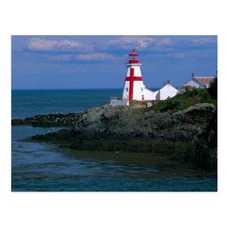 Na, Kanada, New-Brunswick, Campobello Insel. 4 Postkarte