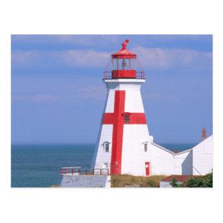 Na, Kanada, New-Brunswick, Campobello Insel. 6 Postkarte