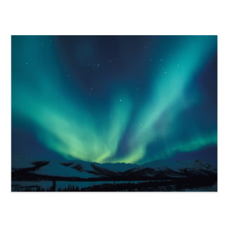 Na, USA, Alaska, Bäche erstrecken sich, Vorhänge Postkarte