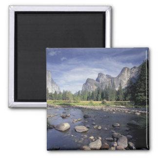 Na, USA, Kalifornien, Yosemite NP, Talansicht Quadratischer Magnet