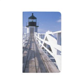 Na, USA, Maine, Hafen Clyde.  Marshall-Punkt 2 Taschennotizbuch