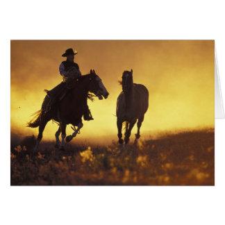 Na, USA, Oregon, Seneca, Ponderosa Ranch, Cowboy 3 Karte