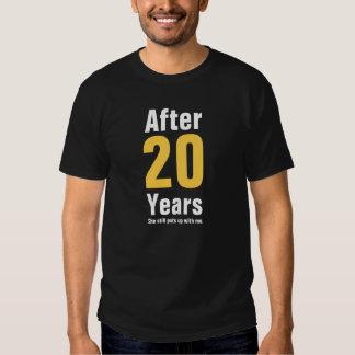 Nach 20 Jahren duldete sie mich noch T-Shirts