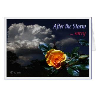 Nach dem Sturm Karten