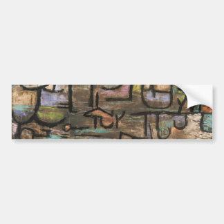 Nach der Flut durch Paul Klee Autoaufkleber