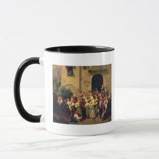 Nach der Schule, 1844 Tasse