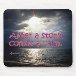 Nach einem Sturm Mauspad