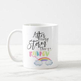 Nach jedem Sturm gibt es eine Kaffeetasse