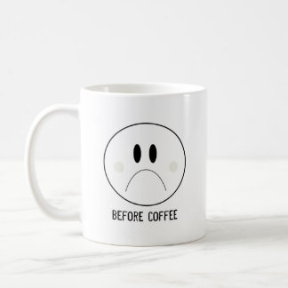 Nach Kaffee Kaffeetasse