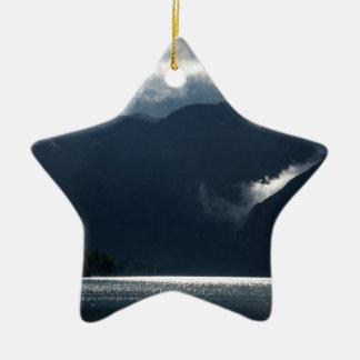 Nach Sturmlicht Keramik Stern-Ornament