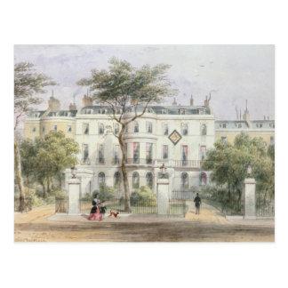 Nach Westen Front von Haus Sir-Robert Peels Postkarte