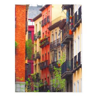 Nachbarschaft Madrids, Spanien Postkarte