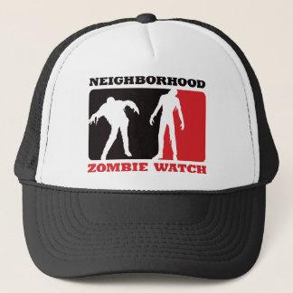 Nachbarschafts-Zombie-Uhr - Rot Truckerkappe