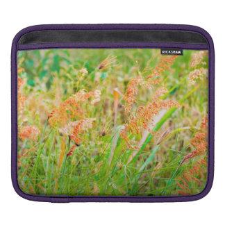 Nachmittags-Blumenszenen-Foto Sleeve Für iPads