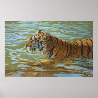 Nachmittags-Schwimmen - Poster