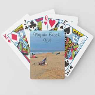 Nachmittags-Strand-Spaß Bicycle Spielkarten