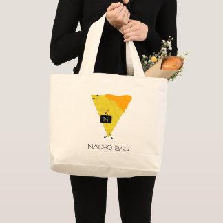 NACHO-TASCHE Tortilla-Chip mit dem Käse, der eine Jumbo Stoffbeutel