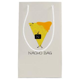 NACHO-TASCHE Tortilla-Chip mit dem Käse, der eine Kleine Geschenktüte