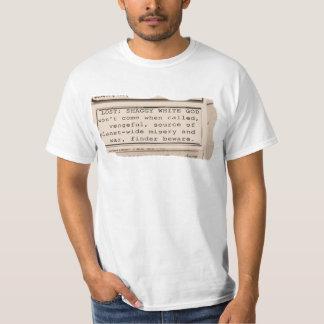 Nachrichten-Anzeige Hemden