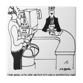 Nachrichten-Cartoon 4155 Fliese
