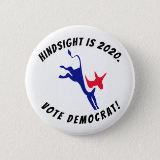 Nachsicht ist 2020, Abstimmungs-Demokrat-Knopf Runder Button 5,1 Cm