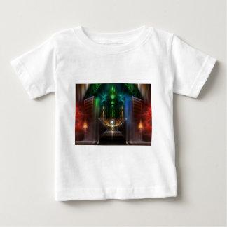 Nachsinnen über von Unze-Fraktal-Kunst Baby T-shirt