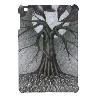 Nacht, Baum, Mond und wir iPad Mini Hülle