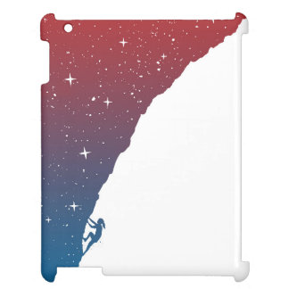 Nacht, die II klettert iPad Hülle