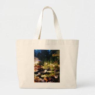 Nacht-Garten, auf einer Tasche