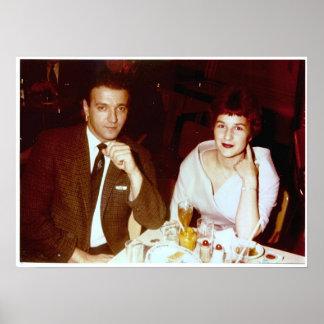 Nacht heraus in Baltimore mit Bob und PAM - 1960 Poster