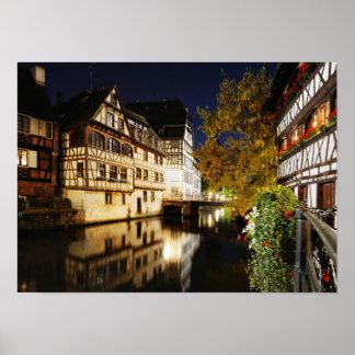 Nacht in Straßburg Poster