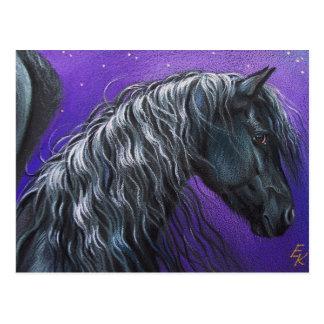 Nacht Pegasus Postkarte