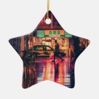 Nachtasien-Sehenswürdigkeit-Reise-Japaner Japans Keramik Ornament