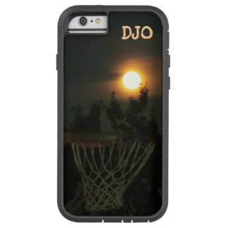 Nachtbasketball unter Vollmond Tough Xtreme iPhone 6 Hülle