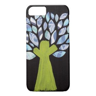 Nachtbaum-Telefon-Kasten iPhone 7 Hülle