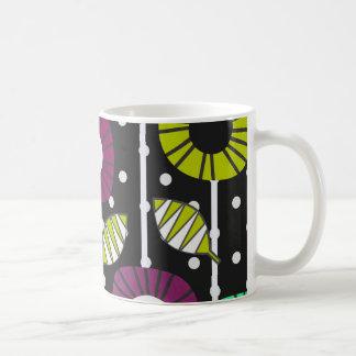 Nachtblühende pflanzen kaffeetasse