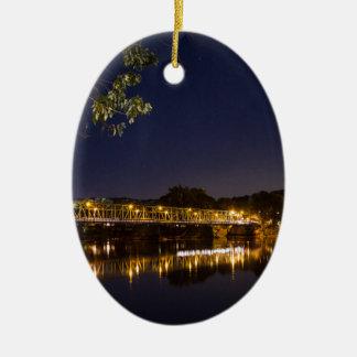 Nachtbrücke Keramik Ornament