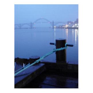 Nachtbrücke Postkarte