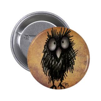 Nachteulen-Kunst für Eulen-Liebhaber Runder Button 5,7 Cm