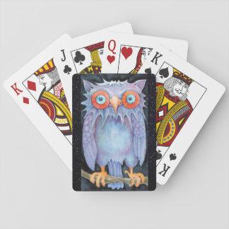 Nachteulen-Spielkarten Pokerkarten