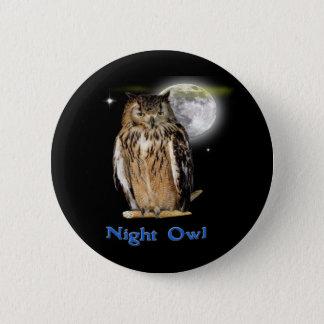Nachteulenprodukte Runder Button 5,1 Cm