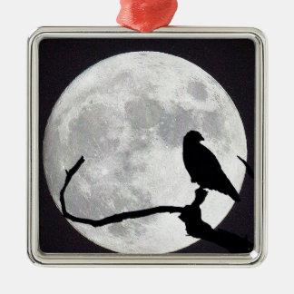 Nachtfalke Silbernes Ornament