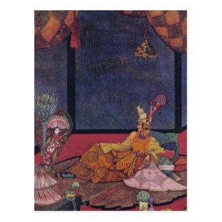 Nachtigall Postkarte
