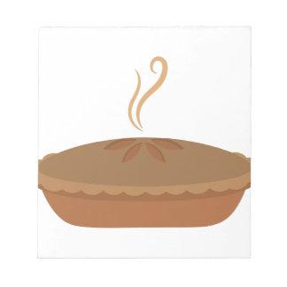 Nachtisch-Torte Notizblock