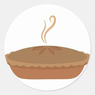 Nachtisch-Torte Runder Aufkleber